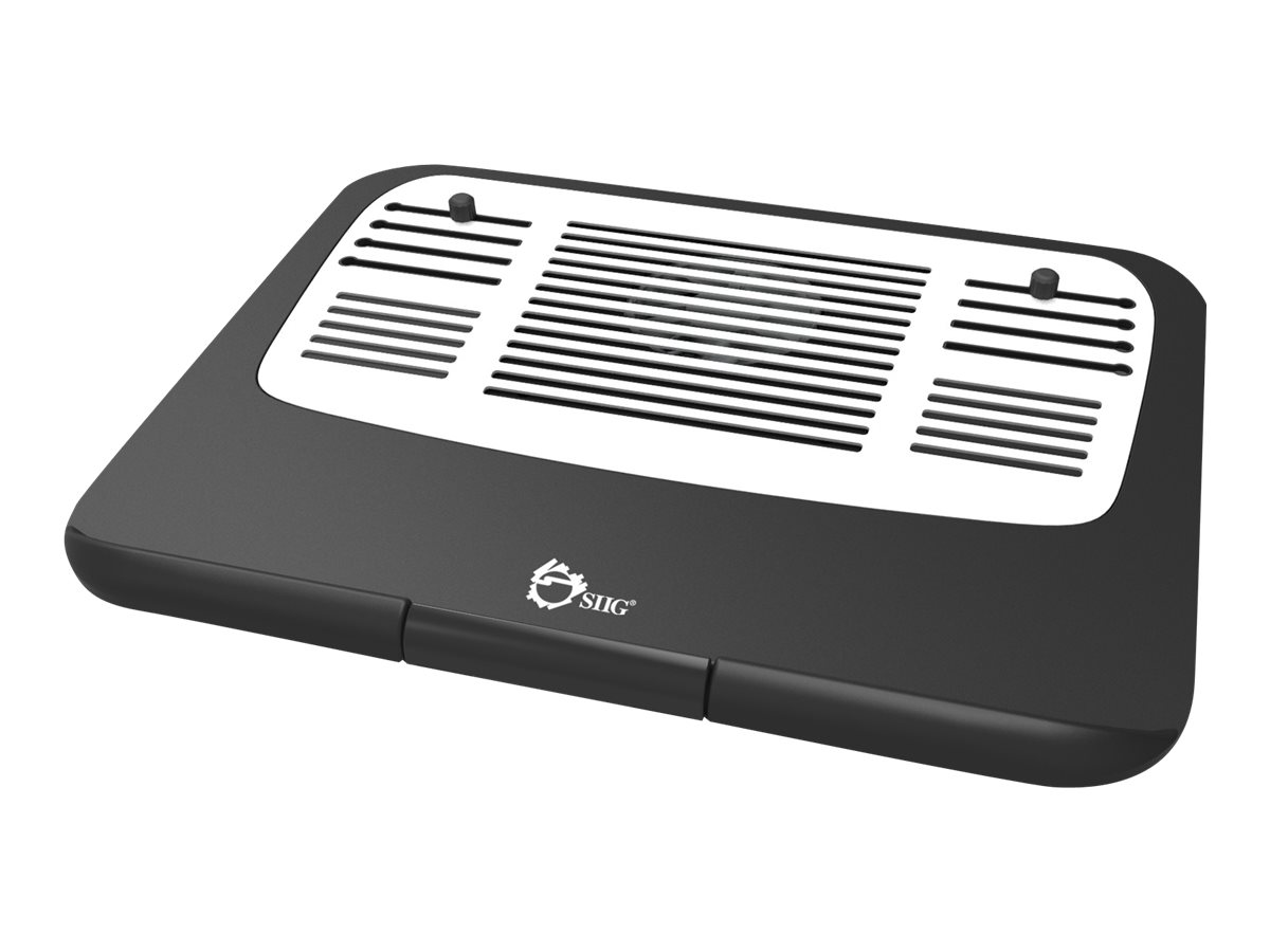 SIIG Ergonomic Multi-Angle Tilted Laptop Cooling Pad notebook fan