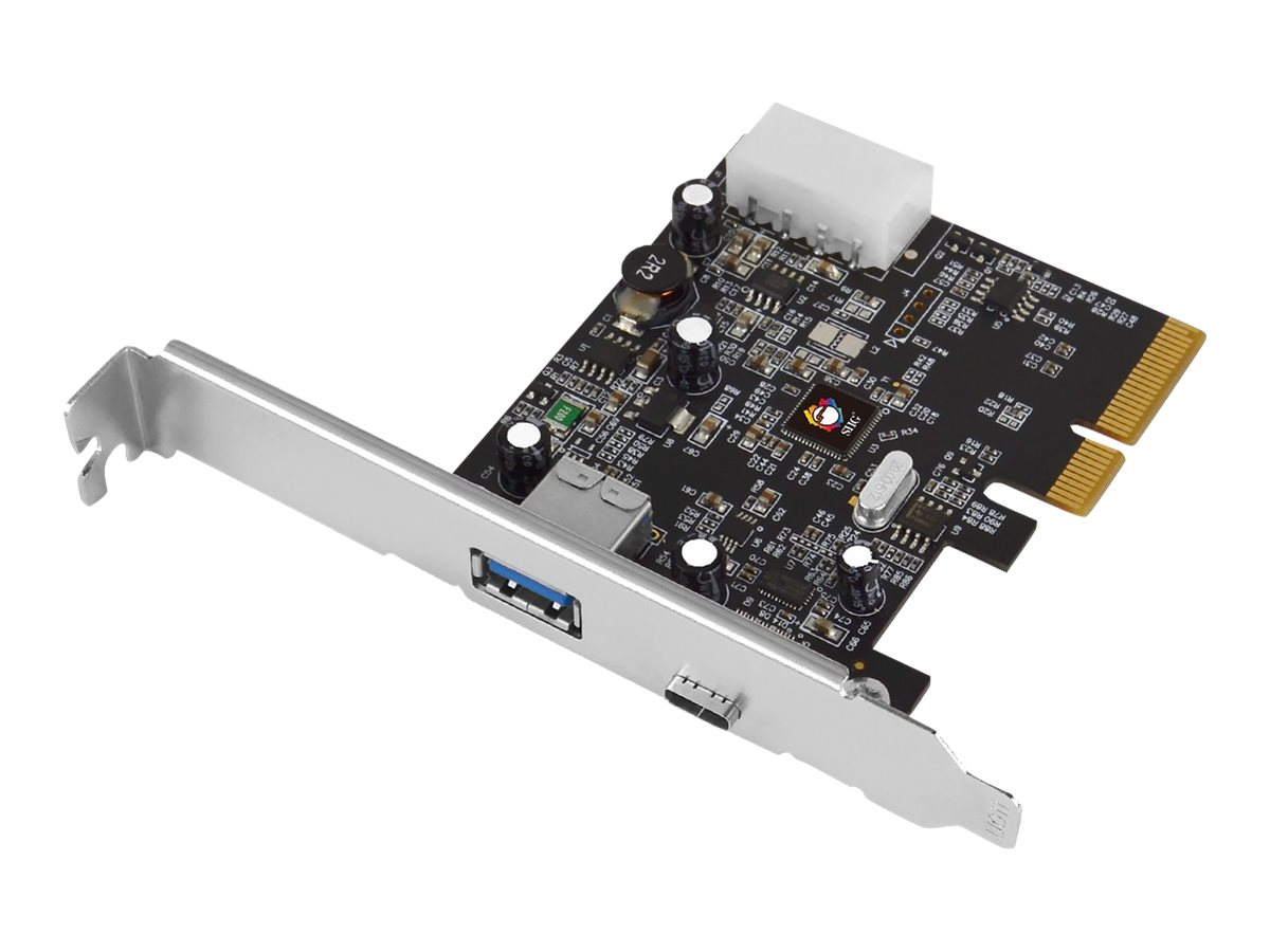 SIIG JU-P20A12-S1 - USB adapter - PCIe 3.0 x4 - USB 3.1 x 2