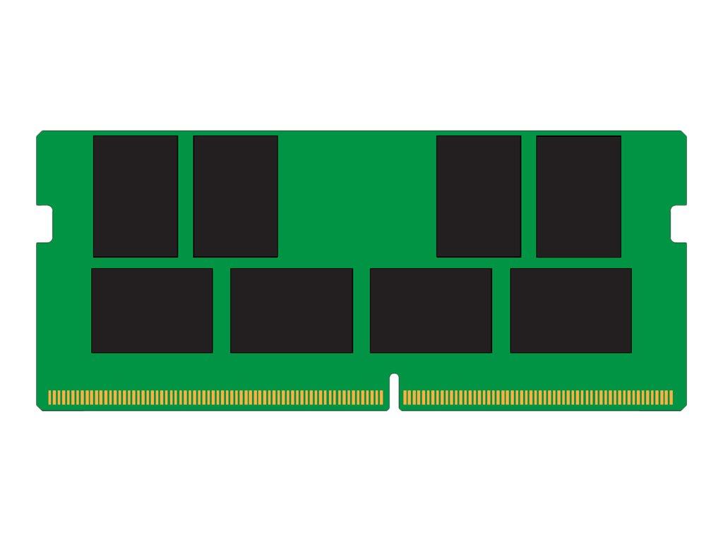 Kingston ValueRAM - DDR4 - module - 16 GB - SO-DIMM 260-pin - 2400 MHz / PC4-19200 - unbuffered