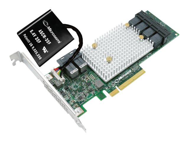 Microchip Adaptec SmartRAID 3154-24i - storage controller (RAID) - SATA 6Gb/s / SAS 12Gb/s - PCIe 3.0 x8