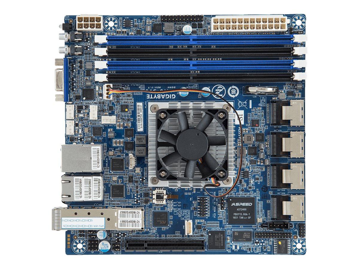 Gigabyte MA10-ST0 - 1.1 - motherboard - mini ITX - Intel Atom C3958