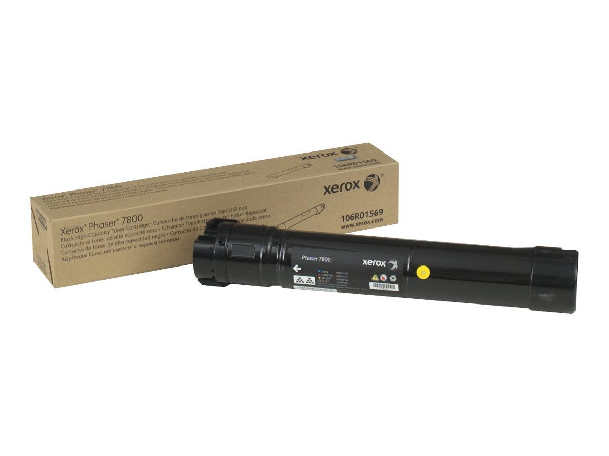 Xerox Phaser 7800 - High Capacity - black - original - toner cartridge