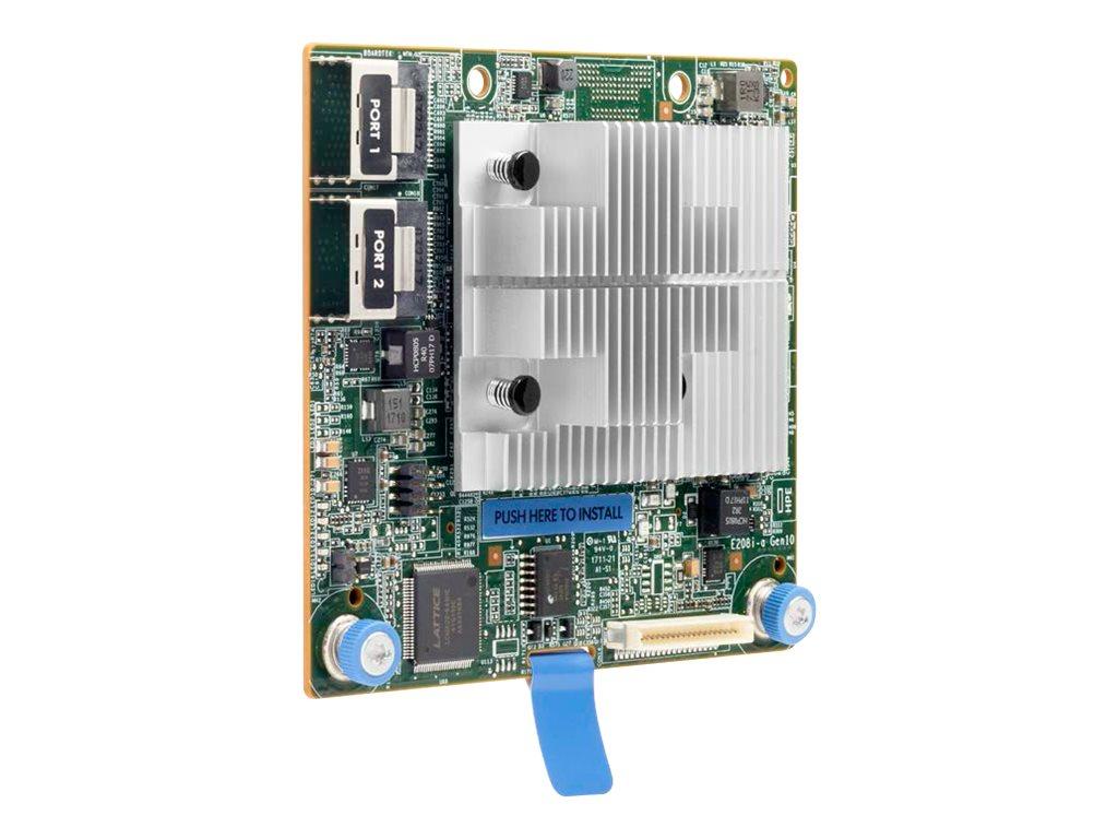 HPE Smart Array E208i-a SR Gen10 - storage controller (RAID) - SATA 6Gb/s / SAS 12Gb/s - PCIe 3.0 x8