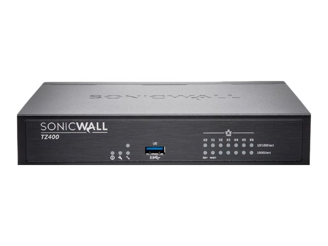 SonicWall TZ400 Wireless-AC - security appliance - with 1 year TotalSecure