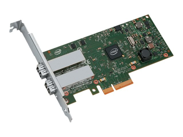 Intel Ethernet Server Adapter I350-F2 - network adapter - PCIe 2.1 x4 - 1000Base-SX x 2