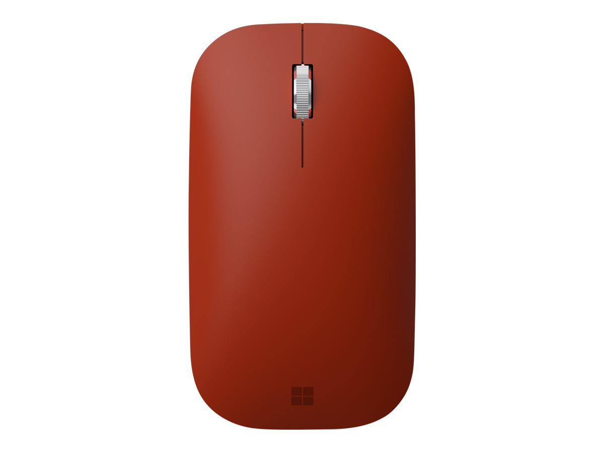 Microsoft Surface Mobile Mouse - mouse - Bluetooth 4.2 - poppy red