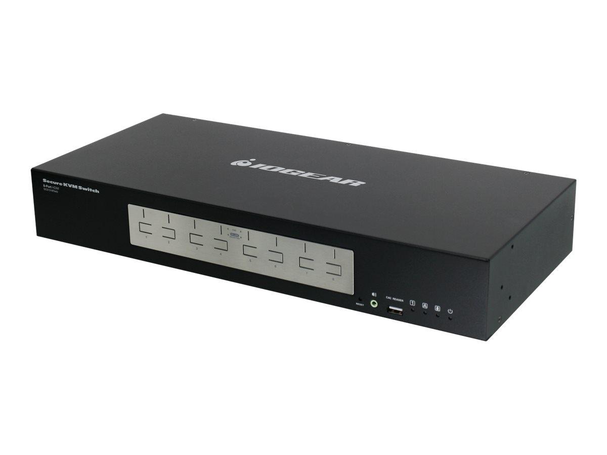 IOGEAR HDMI Secure KVM series GCS1318TAA3 - KVM switch - 8 ports