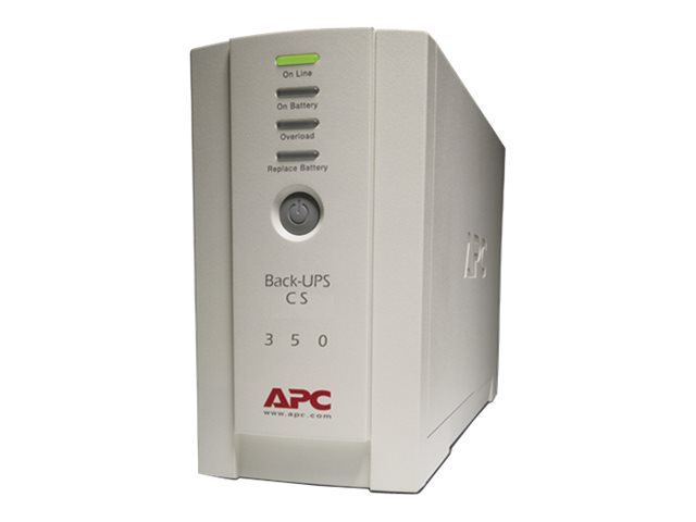 APC Back-UPS CS 350 - UPS - 210 Watt - 350 VA