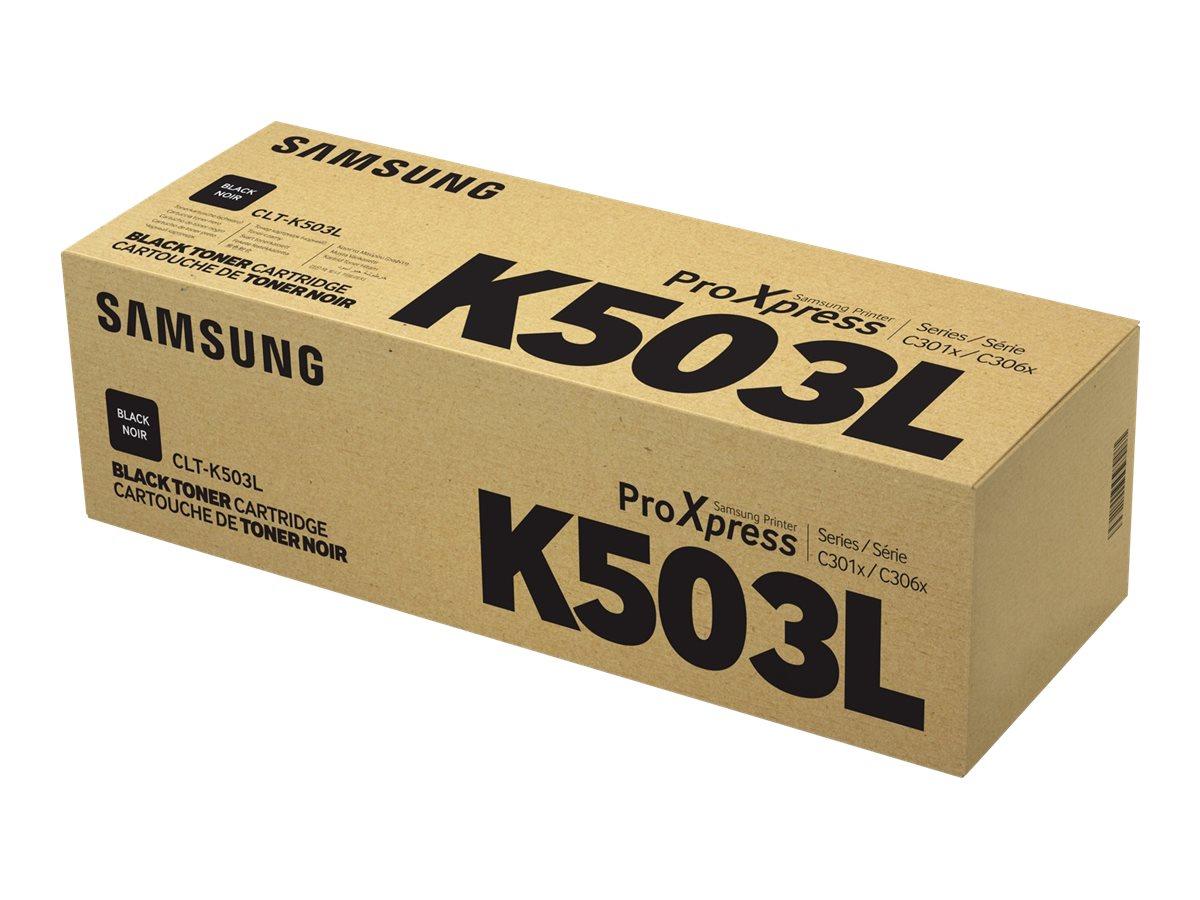 Samsung CLT-K503L - High Yield - black - original - toner cartridge (SU150A)