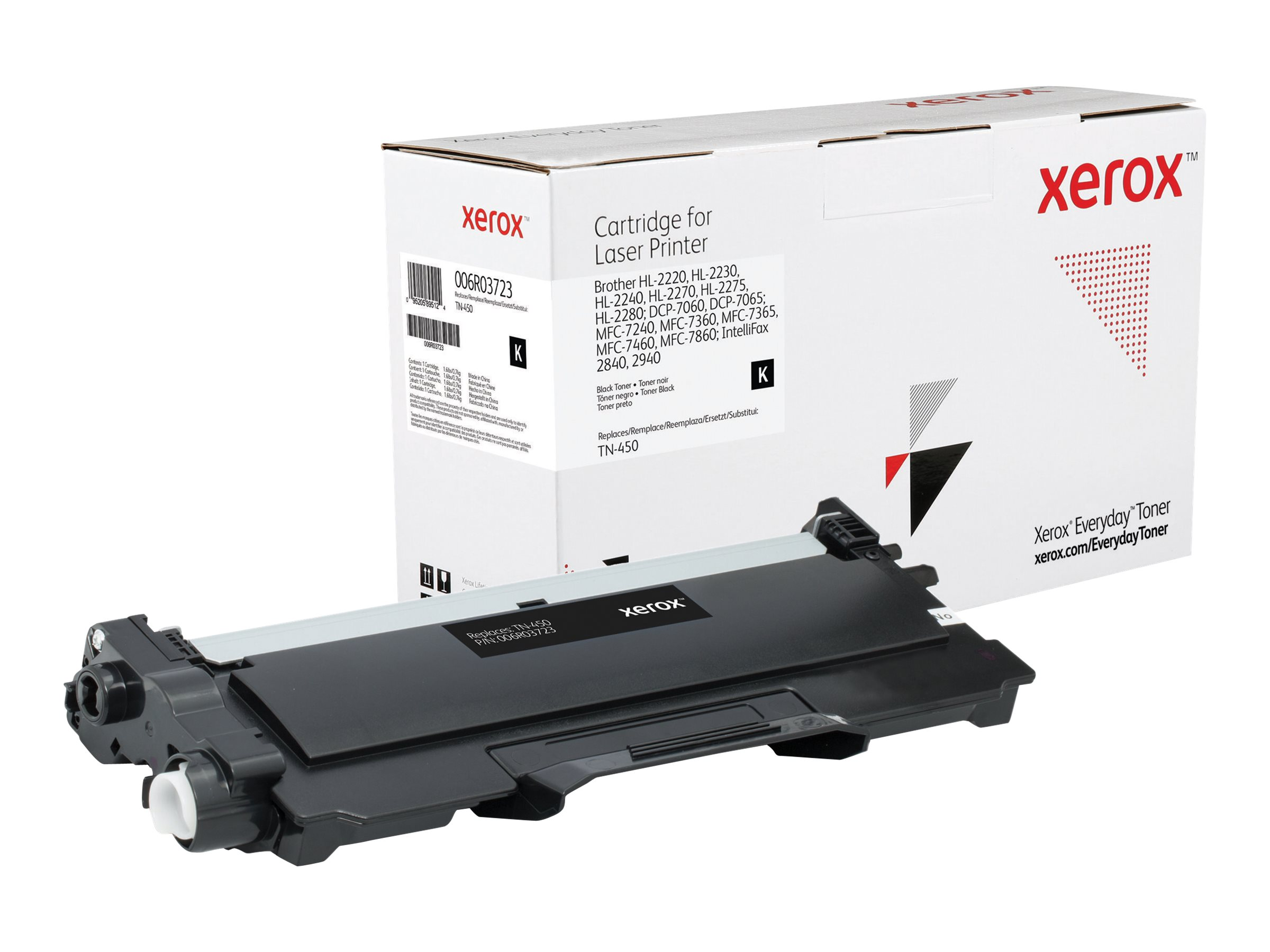 Xerox Everyday - black - toner cartridge (alternative for: Brother TN450)