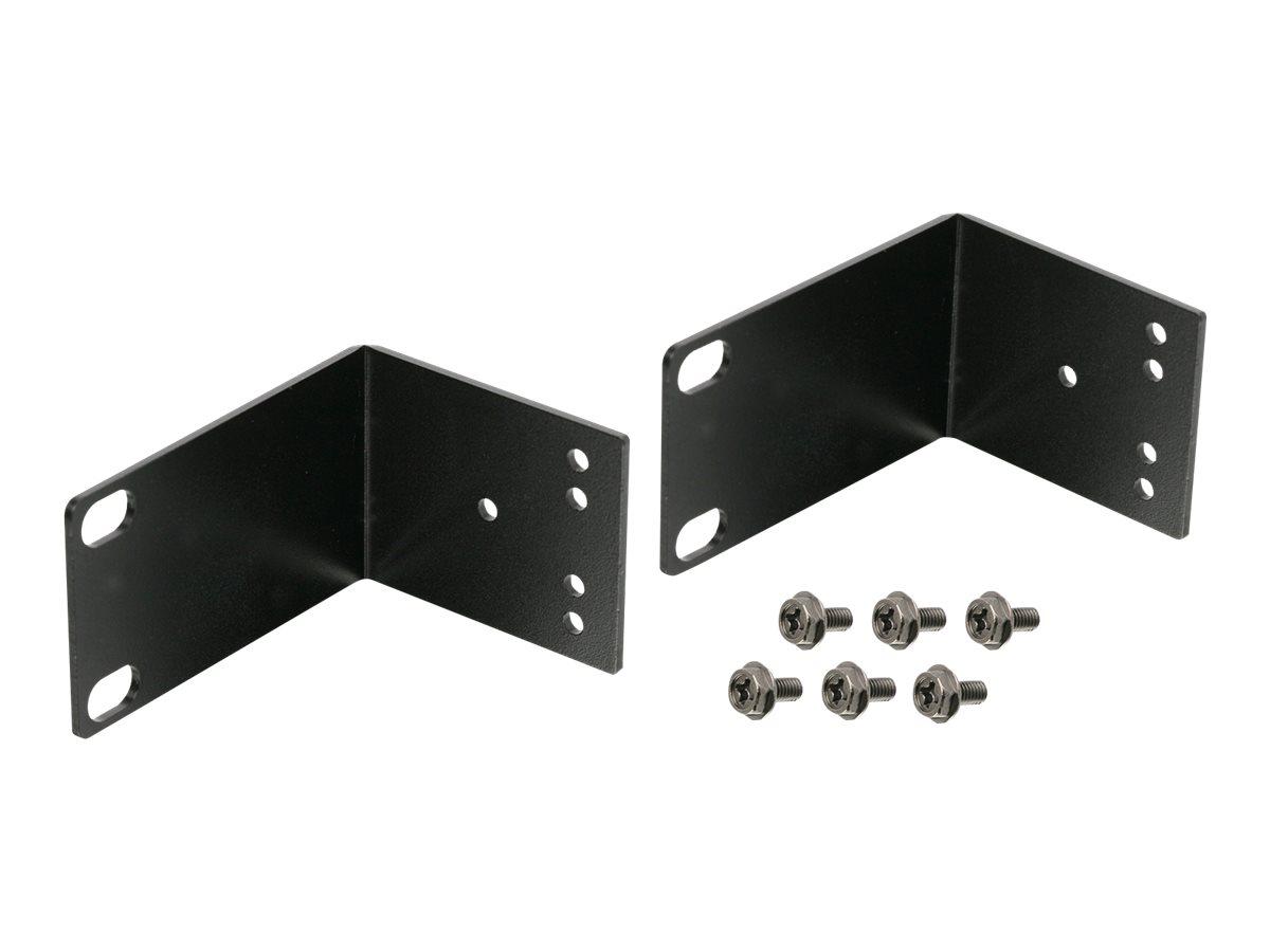 IOGEAR rack mounting kit - 1U
