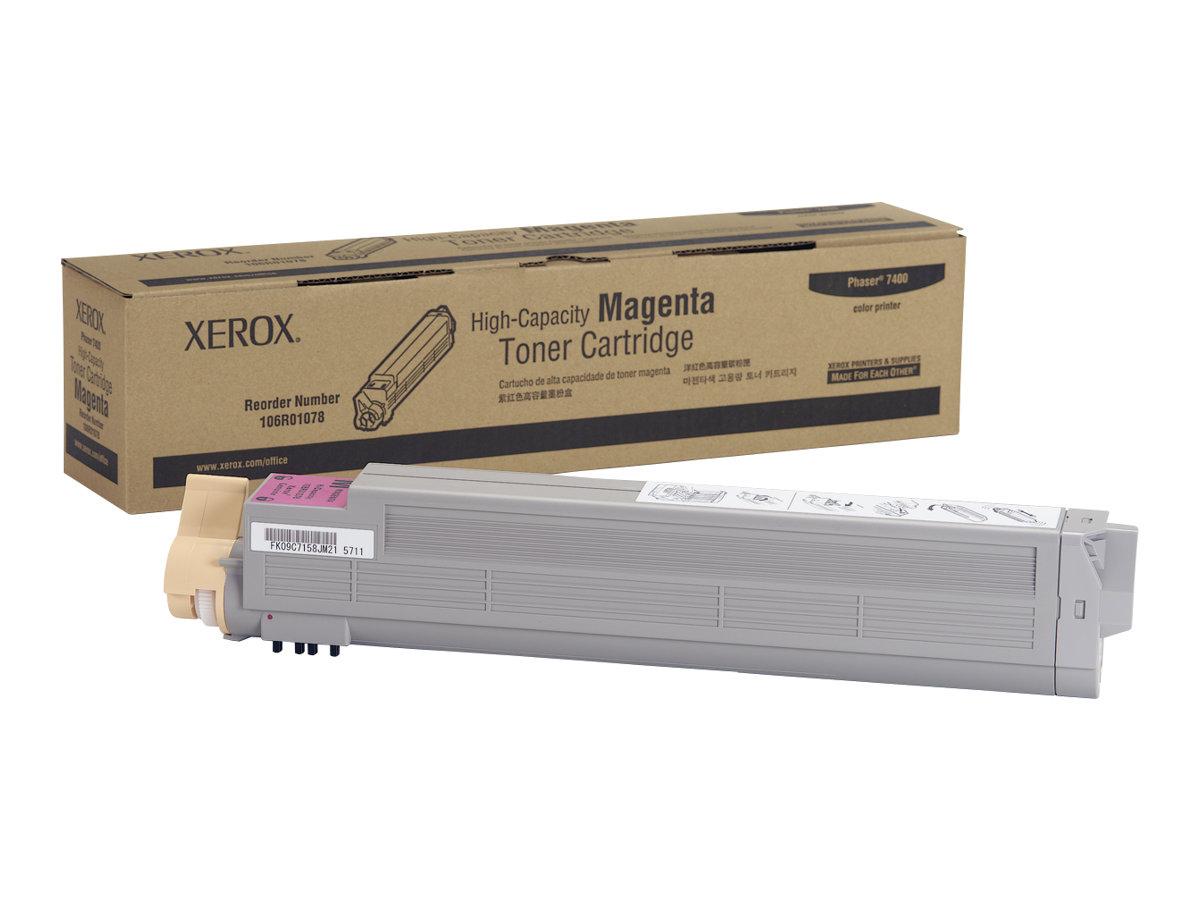 Xerox Phaser 7400 - High Capacity - magenta - original - toner cartridge