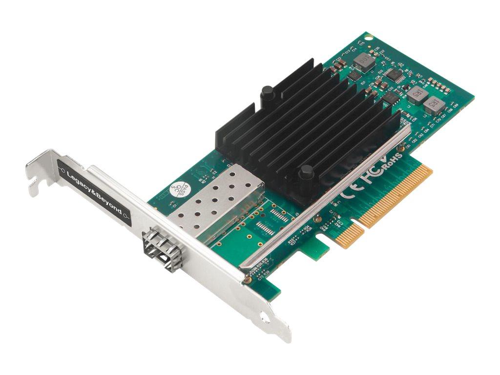 SIIG Single Port 10G SFP+ Ethernet Network PCI Express - network adapter - PCIe 2.0 x8 - 10 Gigabit SFP+ x 1