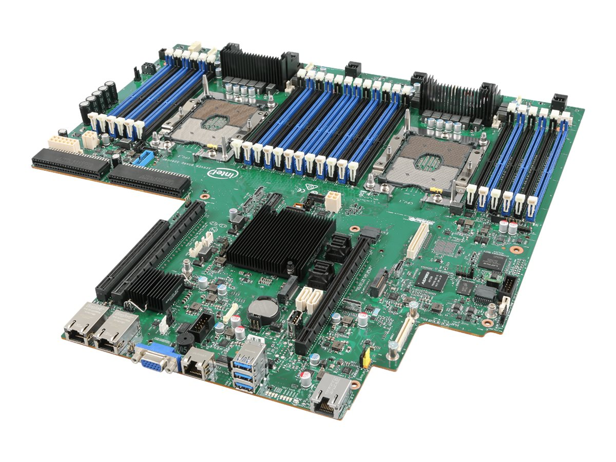 Intel Server Board S2600WF0R - motherboard - Intel - Socket P - C624