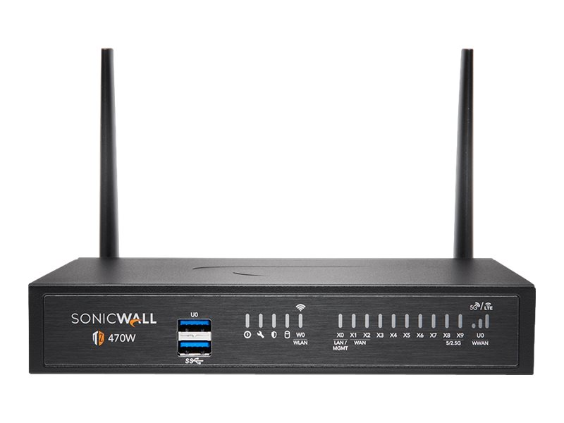 SonicWall TZ470W - Essential Edition - security appliance