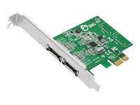 SIIG DP eSATA 6Gb/s 2-Port PCIe - storage controller - eSATA 6Gb/s - PCIe 2.0
