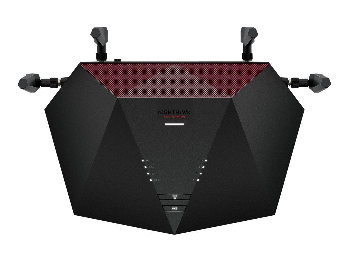 NETGEAR Nighthawk Pro Gaming XR1000 - wireless router - 802.11a/b/g/n/ac/ax - desktop