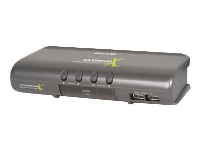 IOGEAR MiniView Extreme Mutimedia GCS1734 - KVM / audio switch - 4 ports
