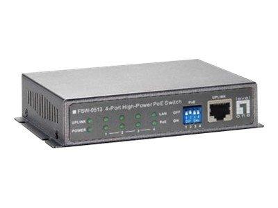 LevelOne FSW-0513 - switch - 4 ports