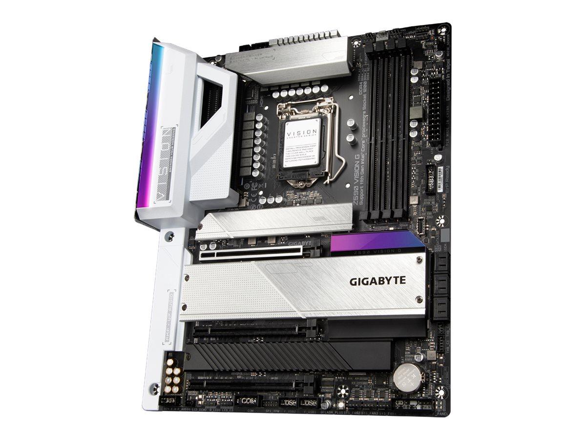 Gigabyte Z590 VISION G - 1.0 - motherboard - ATX - LGA1200 Socket - Z590