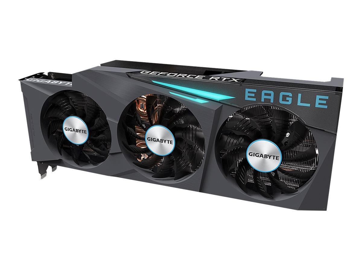 Gigabyte GeForce RTX 3080 EAGLE 10G - graphics card - GF RTX 3080 - 10 GB