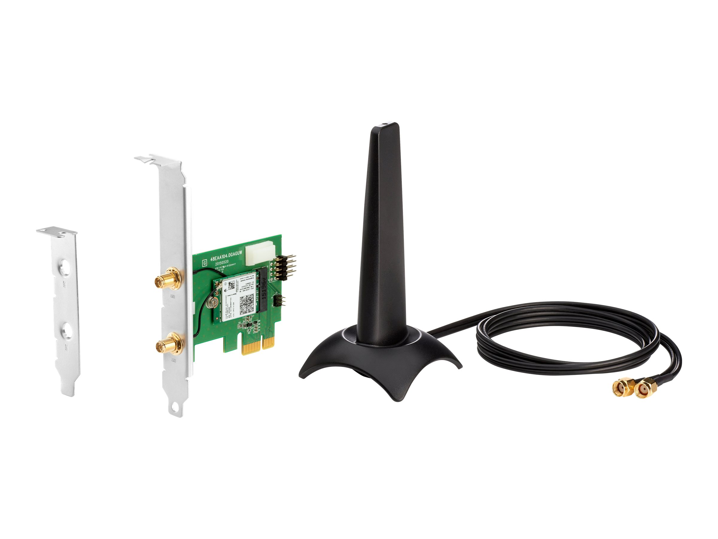 Intel Wi-Fi 6 AX200 - network adapter - PCIe