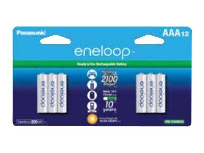 Panasonic eneloop BK-4MCCA12BA battery - 12 x AAA type - NiMH