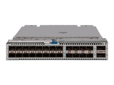 HPE 24-port Converged Port and 2-port QSFP+ Module - expansion module - 10 Gigabit SFP+ x 24 + QSFP+ x 2