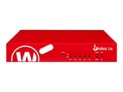 WatchGuard Firebox T20 - security appliance - with 1 year Standard Support