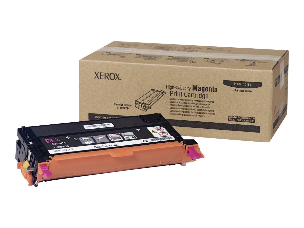 Xerox Phaser 6180MFP - High Capacity - magenta - original - toner cartridge