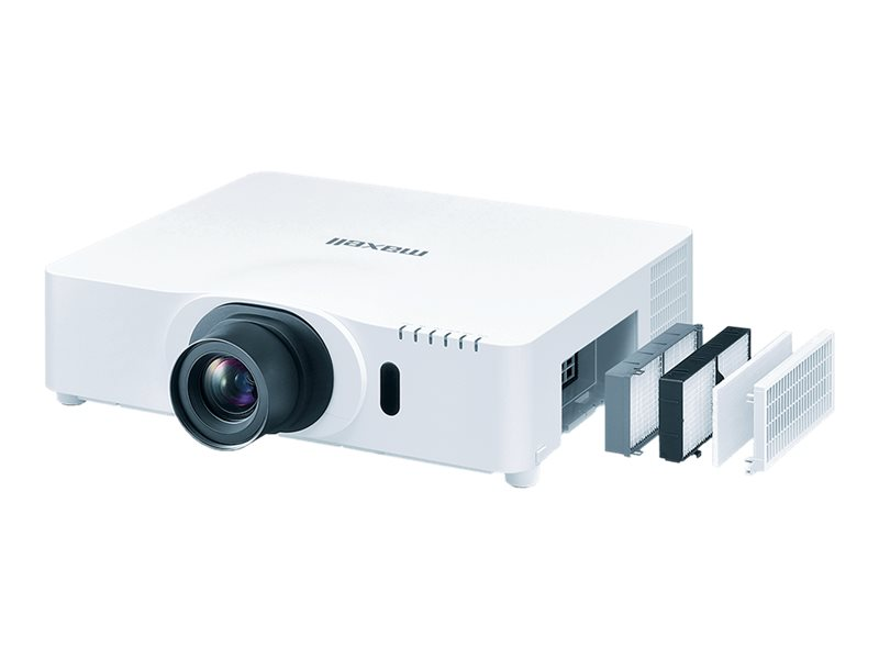 Maxell MC-X8170 - 3LCD projector - standard lens - LAN