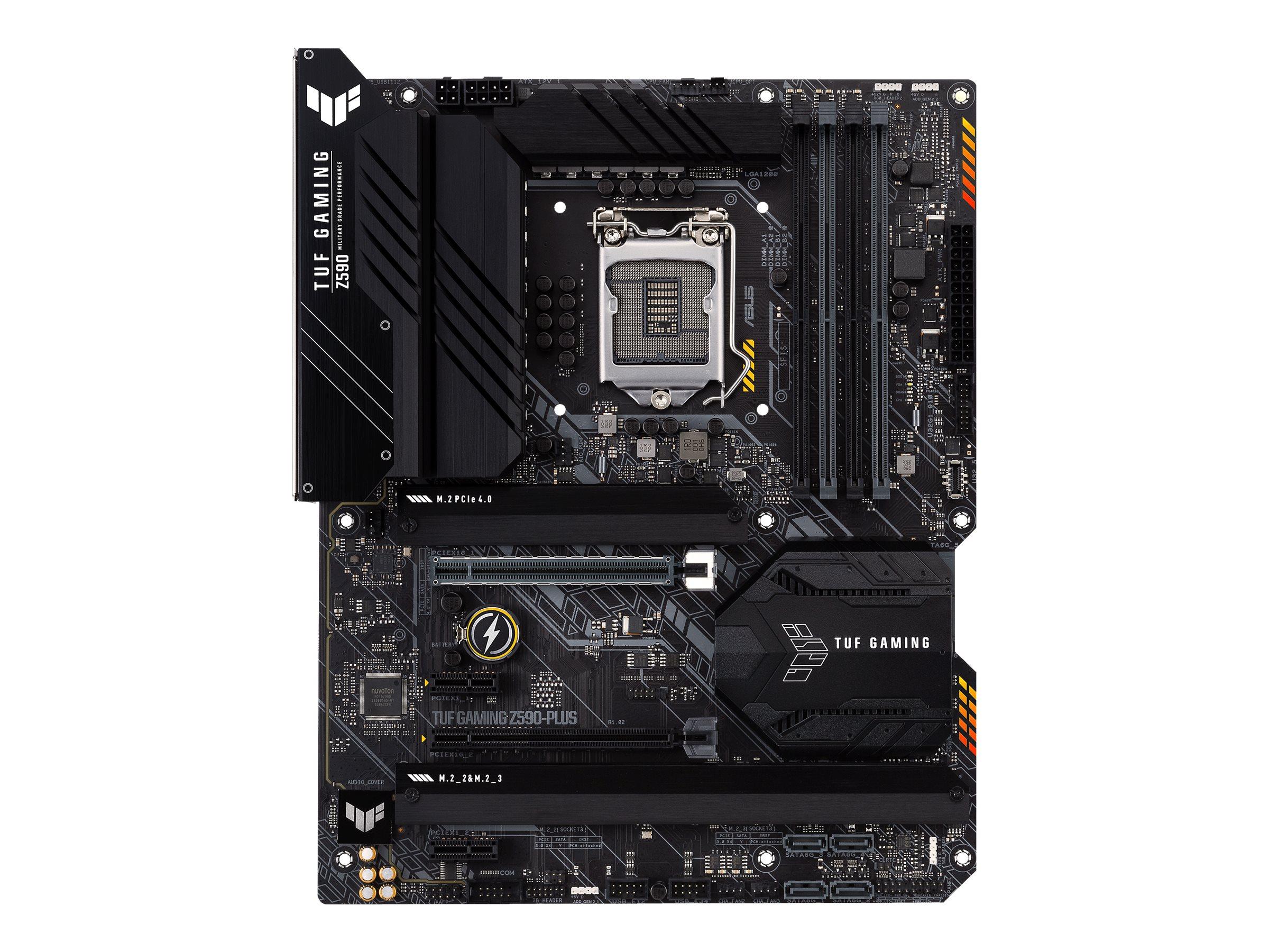 ASUS TUF GAMING Z590-PLUS - motherboard - ATX - LGA1200 Socket - Z590