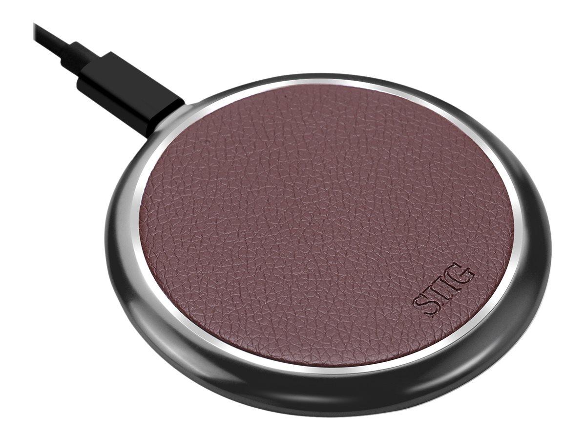 SIIG Premium Wireless Smartphone Charger Pad wireless charging mat - 10 Watt