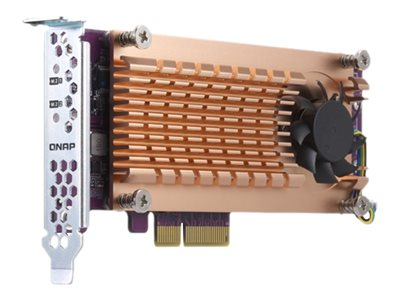 QNAP QM2-2P-344 - storage controller - PCIe - PCIe 3.0 x4