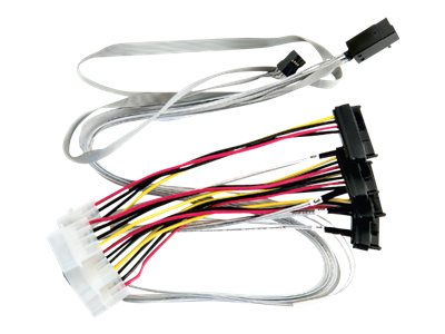 Microchip Adaptec SAS internal cable - 2.6 ft