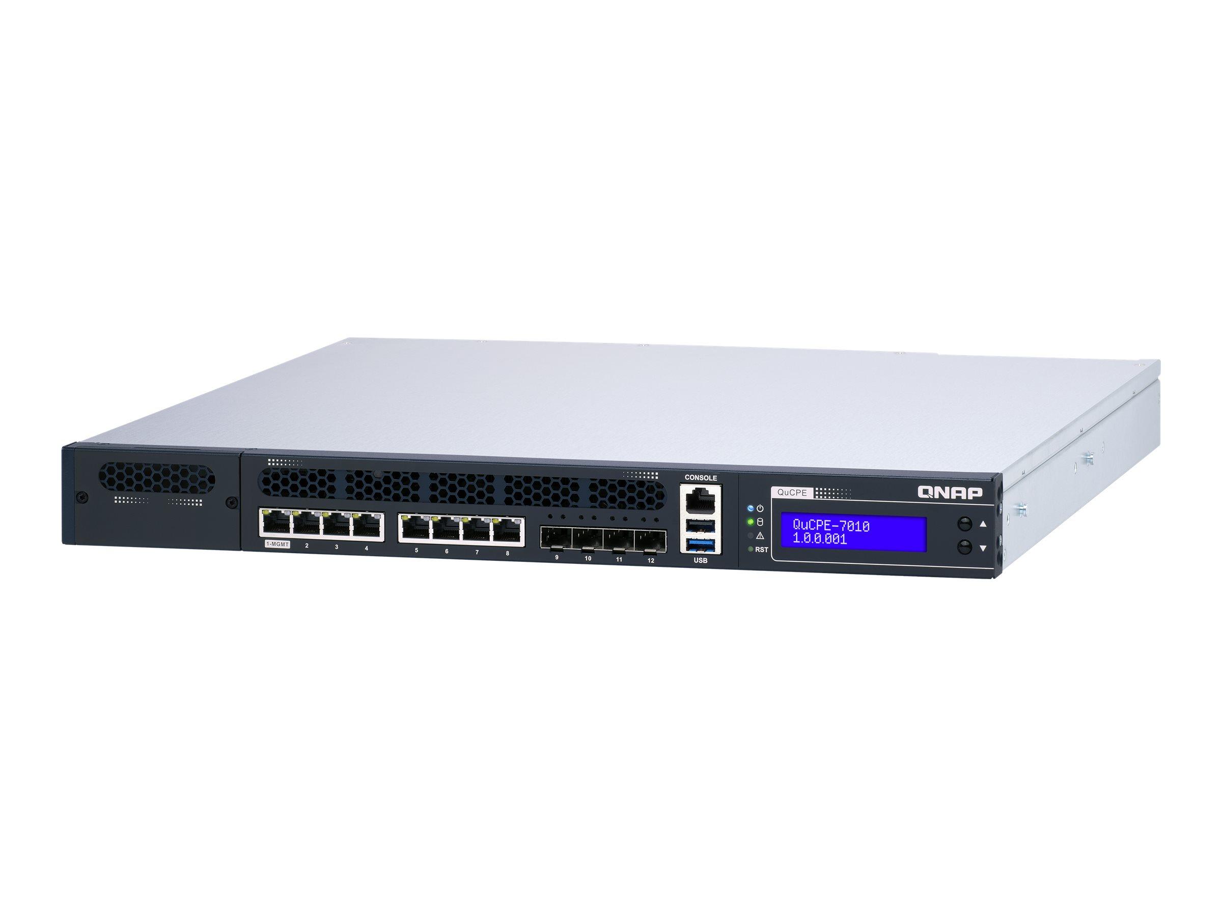 QNAP QuCPE-7010-D2166NT-64GB - virtualization appliance