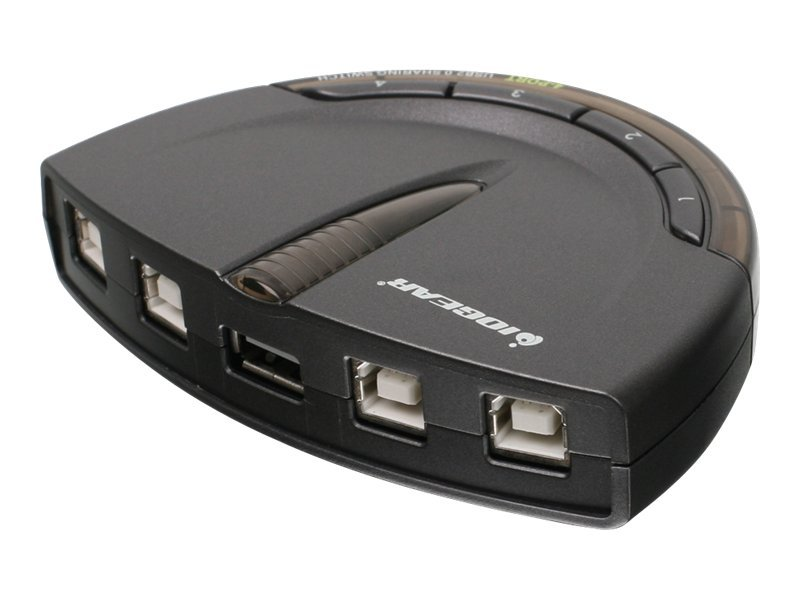 IOGEAR GUB431 - USB peripheral sharing switch - 4 ports