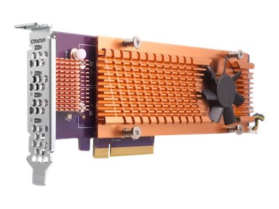 QNAP QM2-4S-240 - storage controller - SATA - PCIe 2.0 x4