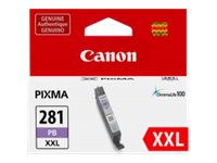 Canon CLI-281 XXL PB - XXL size - photo blue - original - ink tank