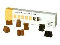 Xerox ColorStix II Phaser 860 - 7 - black, yellow - solid inks